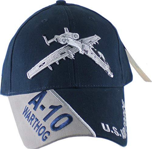 US Air Force 'A-10 Warthog' Ball Cap, Blue, ()