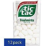 Tic Tac Mints, Freshmints Singles, 1 oz. (Pack of 12)