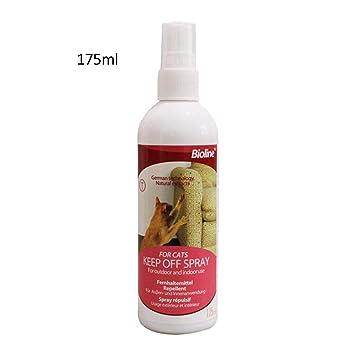 Hifuture Spray para Mascotas Disuasivo Natural No Estimulante Disuasivo para Gatos para Prevenir Efectivamente Que los Gatos Rayen los Muebles, ...