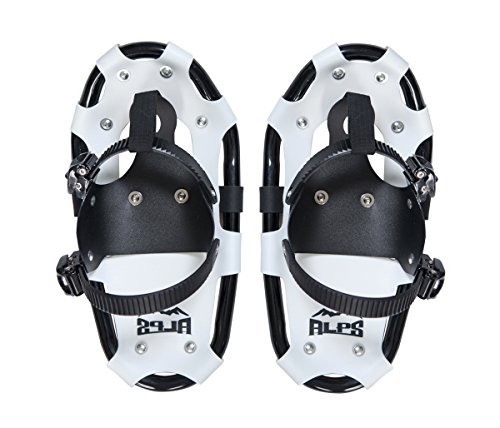 ALPS Light Weight Snowshoes Kids, Boys & Girls Includes Snowshoes Carrying Tote Bag