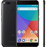 "Xiaomi MI A1 (64GB, 4GB RAM) with Android One & Dual Cameras, 5.5"" Dual SIM Unlocked, Global GSM Version, No Warranty (Black)"