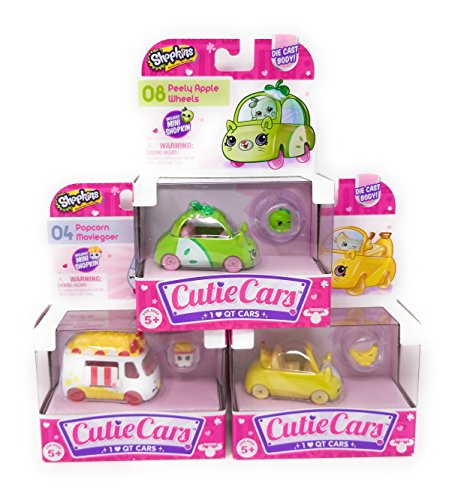 Shopkins Random Cutie Cars, Characters May Vary (Single - City Place Macy's