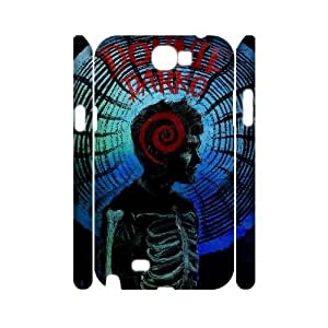 YUAHS(TM) Personalized 3D Hard Back Phone Case for Samsung Galaxy Note 2 N7100 with Donnie Darko YAS414407