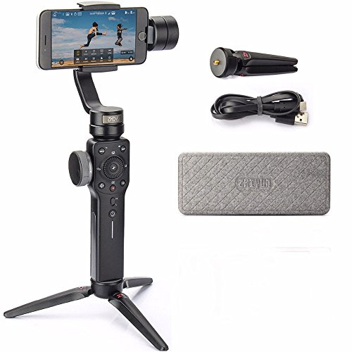 Zhiyun-Smooth-4-3-Axis-Handheld-Gimbal-Stabilizer-with-Grip-Tripod-for-iPhone-12-11-Pro-Xs-Max-Xr-X-8-Plus-7-6-SE-Android-Cell-Phone-Smartphone-YouTube-Vlog-Live-Video-Kit