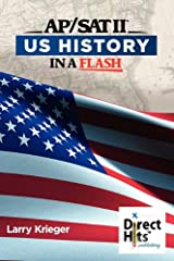 Direct Hits US History in a Flash: for the AP and SAT II Paperback