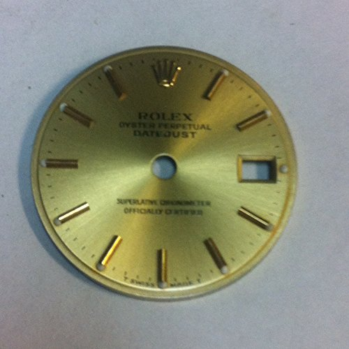 Datejust Dial - Rolex Datejust Model 69173 Ladies Dial Champagne Color