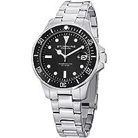 Men's 664.01 Aquadiver Quartz Date Stainless Steel Link Bracelet Diver Watch