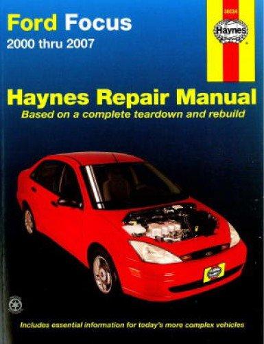 READ Ford Focus 2000 thru 2007 (Haynes Repair Manual)<br />[T.X.T]