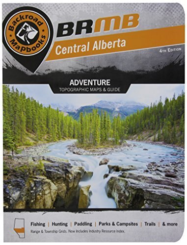 Central Alberta (Backroad Mapbooks) by Trent Ernst (2014-05-15) (Backroads Mapbook Central Alberta compare prices)