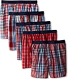 Hanes Ultimate Men's 5-Pack Young Fashion Plaids