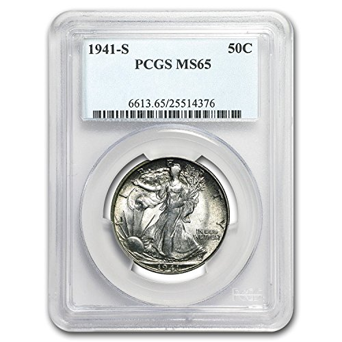 1941 S Walking Liberty Half Dollar MS-65 PCGS Half Dollar MS-65 PCGS