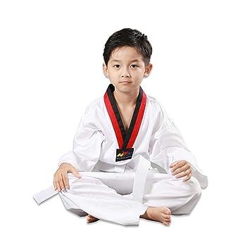 JXS-Outdoor Algodón Artes Marciales del Taekwondo del Estudiante ...