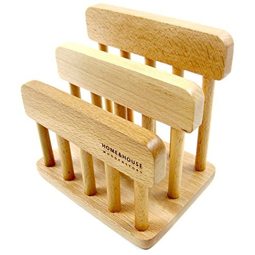 Chopping Board Rack (New Wooden Dual Cutting Board Rack Chopping Board Organizer Stand Holder)