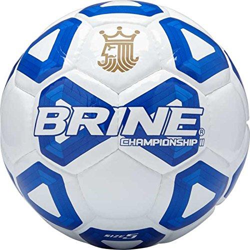 Brine Championship 2.0サッカーボールFootballサイズ5 – New and Improved B0716DKWQ8 ロイヤル ロイヤル