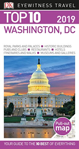 Top 10 Washington, DC (Eyewitness Top 10 Travel - Of Mall Ga Of Map