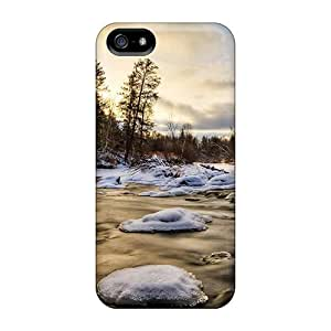 High Quality TianMao Icy River Skin Case Cover Specially Designed For Iphone - 5/5s