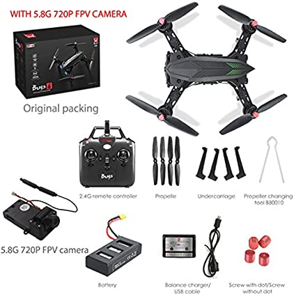 Ocamo Drone con Cámara HD 720P FPV Video en Vivo,Quadcopter MJX ...