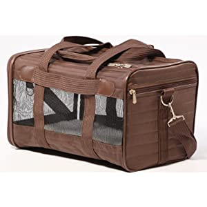 Sherpa Original Deluxe Pet Carrier Large Brown