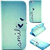 iPhone 5C Case,5C Cases,Ezydigital Carryberry iPhone 5C Quality PU Leather Aztec TribalFolio Magnetic Wallet Case Smart Cover For iPhone 5C,with Credit Card Slots