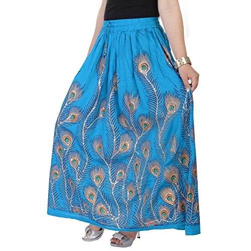 Soundarya - Jupe - Femme bleu bleu