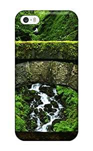 For Iphone Case, High Quality Mossy Stone Bridge For Iphone 5/5s Cover Cases wangjiang maoyi by lolosakes