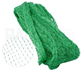Vanitek 6-1/2 x 33 ft. Green Gentle Garden Netting/Row Cover/Screen | Protect Secure to Keep away Birds and Rodents from Fruit, Vegetable, Flowers and sensitive Plants, while allowing water and air in
