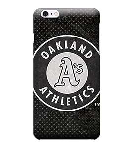 iPhone 6 Plus Case, MLB - Oakland Athletics Dark Wash - iPhone 6 Plus Case - High Quality PC Case