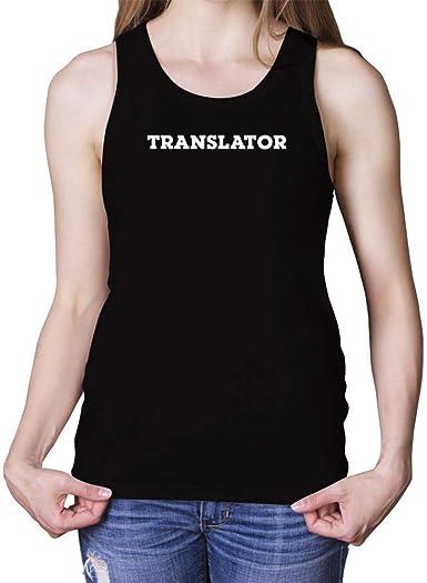 Idakoos Teacher Retro Font Tank Top