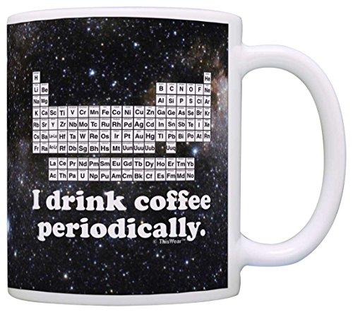 Science Coffee Periodically Chemistry Teacher