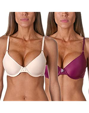One Fabulous Fit Tailored T-Shirt Bra (2 Pack)