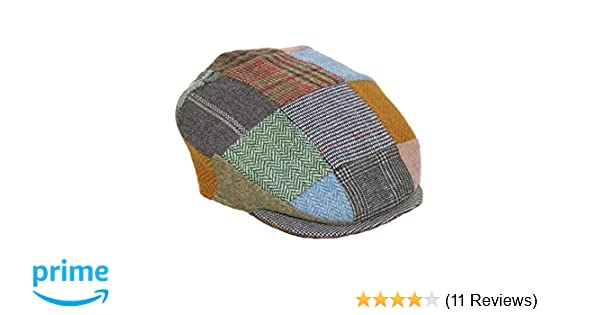 bdee861fbef26 Patchwork Cap Tweed Hand Sewn Donegal Town Hanna Hats Ireland ...