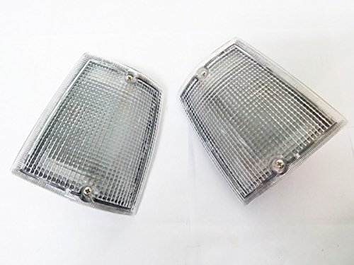 Mazda B2000 Body Parts (85 - 96 Mazda Bravo B-series Ute B2000 B2200 B2600 Lh+rh Corner Light Lamp Clear Lenses 86)