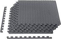 AmazonBasics Exercise Mat with EVA Foam Interlocking Tiles by AmazonBasics