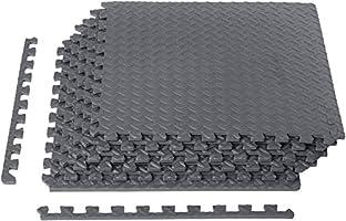 AmazonBasics Exercise Training Puzzle Mat with Foam Interlocking Tiles