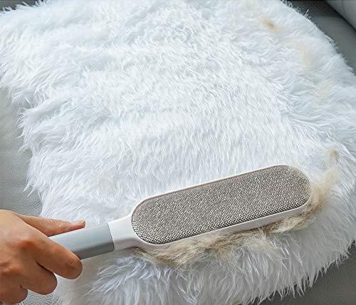 Cepillo para Eliminar Pelusas de Mascotas con Base autolimpiable para Limpiar pelos de Gatos y Perros Lawei