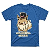 Good Eevee-Ning Gentlmen! - Teepublic Male Large T-Shirt