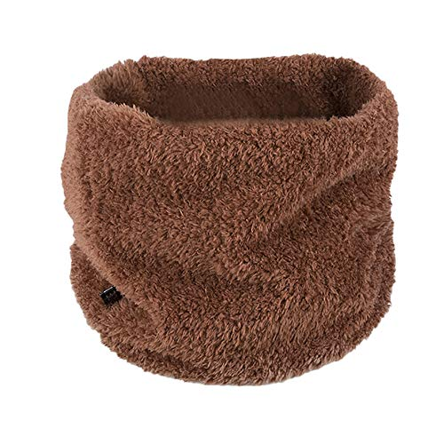 ✿ZTY66✿ Baby Boys Girls Winter Lovely Scarf Infant Thick Plush Scarves Toddler Neckerchiefs (Coffee)