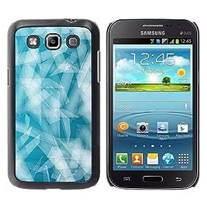 Be Good Phone Accessory // Dura Cáscara cubierta Protectora Caso Carcasa Funda de Protección para Samsung Galaxy Win I8550 I8552 Grand Quattro // Blue White Winter Cold Snow Ice