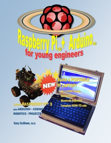 Raspberry Pi + Arduino for Young Engineers (Monochrome Edition)