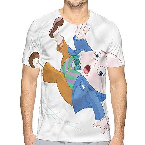Funny t Shirt Alice in Wonderland,Humpty Dumpty Men's and Women's t Shirt S]()