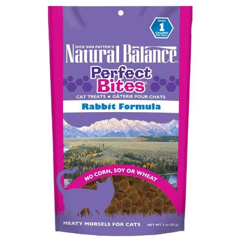 Natural Balance Perfect Bites Cat Treats, Rabbit Formula, 3-Ounce
