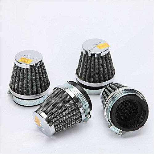 innoglow 4pcs motorcycle air filter 52mm universal air filters import it all. Black Bedroom Furniture Sets. Home Design Ideas