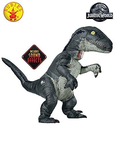 Dinosaur Blue Kids (Rubie's Costume Co Velociraptor with Sound)