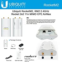 UBIQUITI NETWORKS Rocket M M2 IEEE 802.11n 150 Mbps Wireless Access Point - ISM Band / ROCKETM2 /
