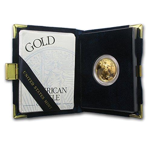 (1999 W 1/2 oz Proof Gold American Eagle (w/Box & COA) 1/2 OZ Brilliant Uncirculated)