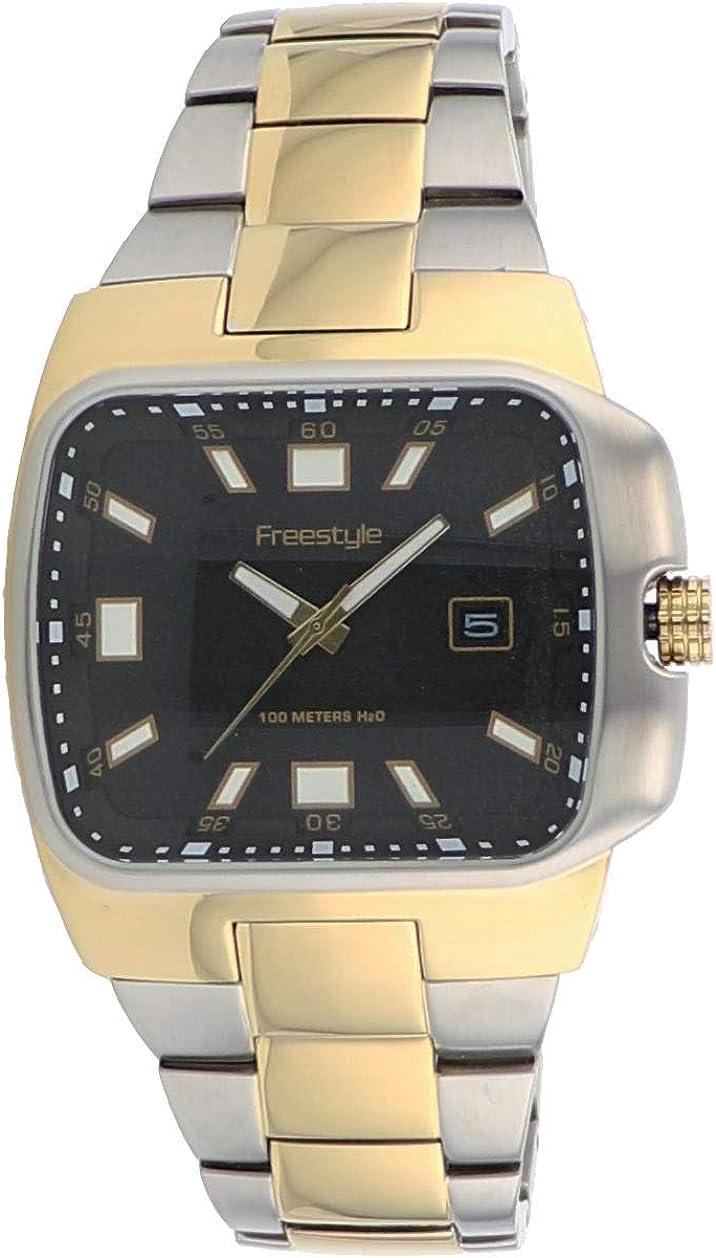 Freestyle Men s Zephyr 2 Tone Stainless Steel Watch 61809 Dress Watch