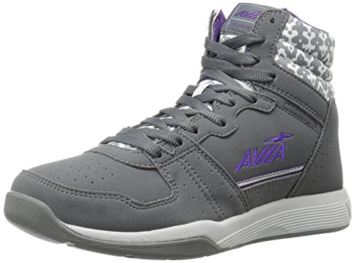 AVIA Women's ALC-Diva Cross-Trainer Shoe, Iron Grey/Cool Mist Grey/Plumeria, 8 M US