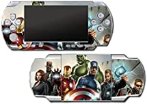 Avengers Nick Fury Hawkeye Black Widow Thor Hulk Iron Man Video Game Vinyl Decal Skin Sticker Cover for Sony PSP Playstation Portable Original Fat 1000 Series System by Vinyl Skin Designs