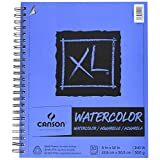 """CANSON XL Series Watercolor Pad, Side Wire, 9"""" x 12"""""""