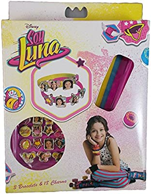 Soy Luna Enjoy Love bracelets and 18 charms